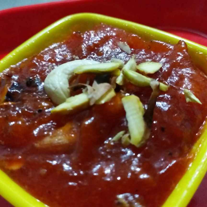 How to make Tangy Tomato Halwa