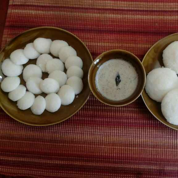 How to make Steamed Idlis with leftover rice