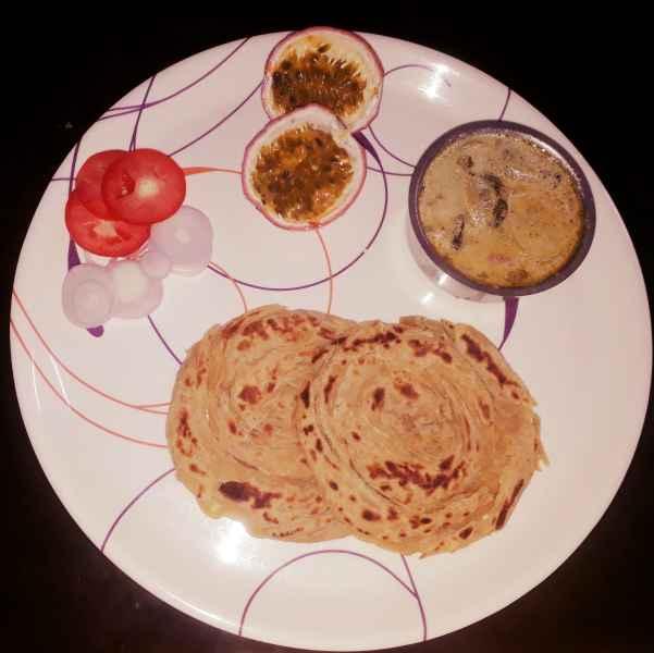 Photo of Wheat Parota with White Kuruma by Vaishnavi Prakash at BetterButter