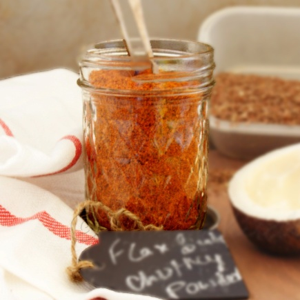 How to make Flax Seeds Chutney Powder