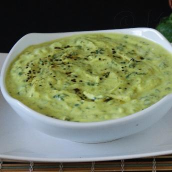 Photo of Malbar Spinach Buttermilk curry by vanamala Hebbar at BetterButter