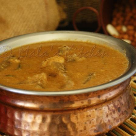 How to make Lal Chori/ Red Chori with Pumpkin Sambar