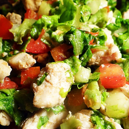 How to make Lettuce Chicken Salad