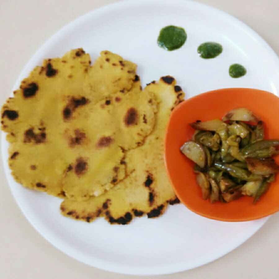Photo of Makke ka parantha by Vandana Gupta at BetterButter