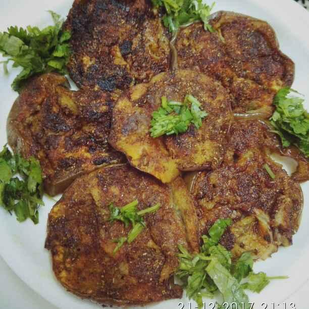 Photo of Tava fry bangan by Vandana Gupta at BetterButter