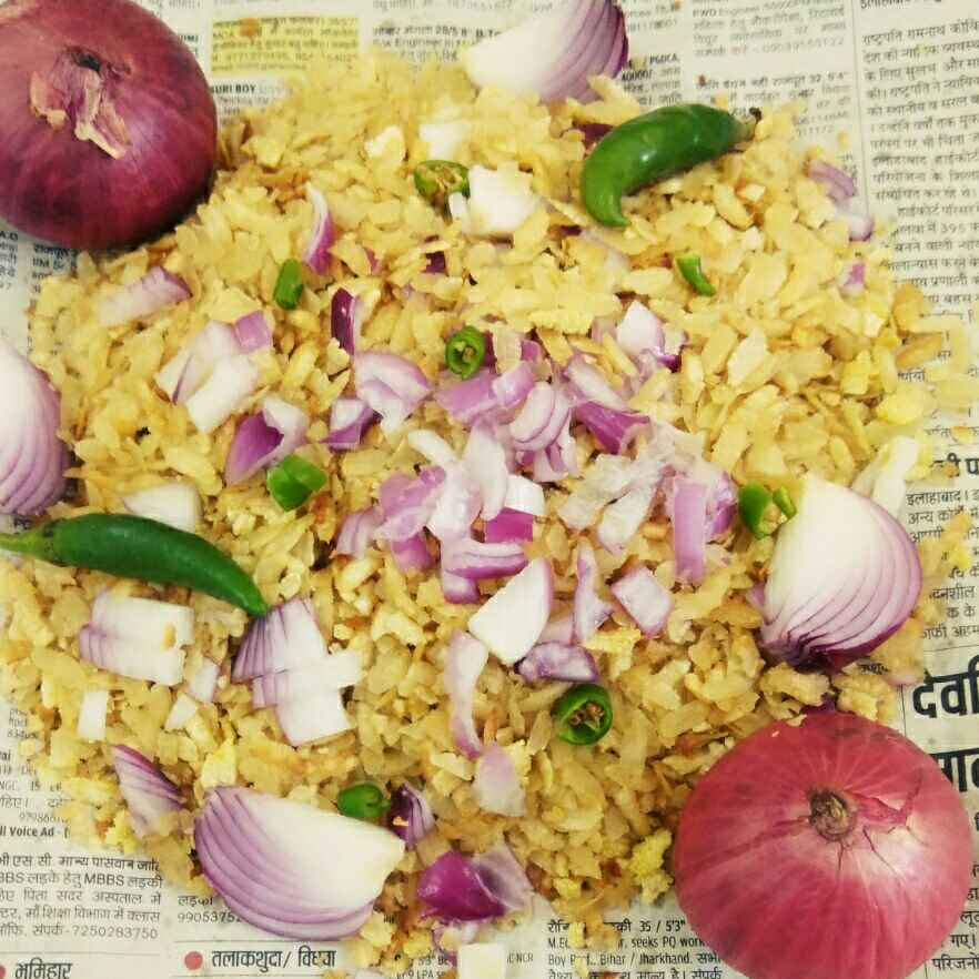 Photo of Rosted poha with onion by Vandana Gupta at BetterButter