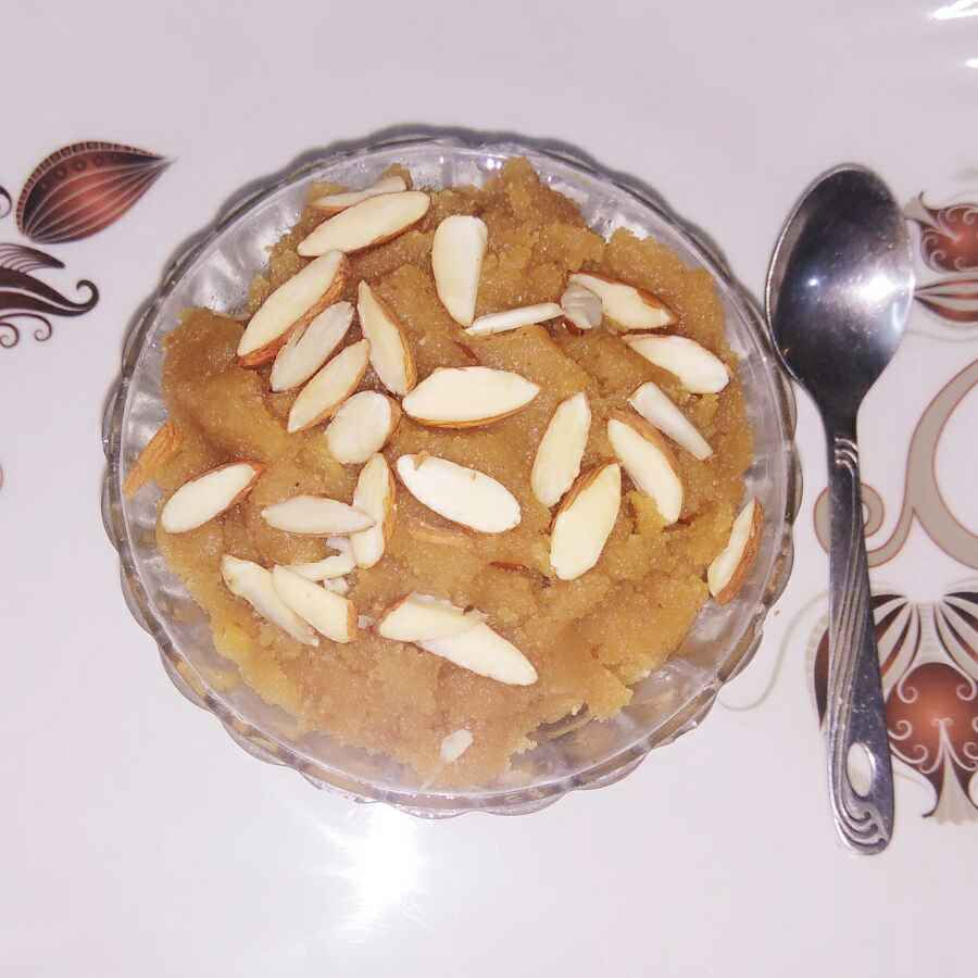 How to make Besan suji halwa