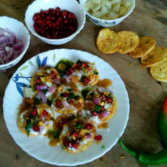 How to make 2 minute Papdi chaat