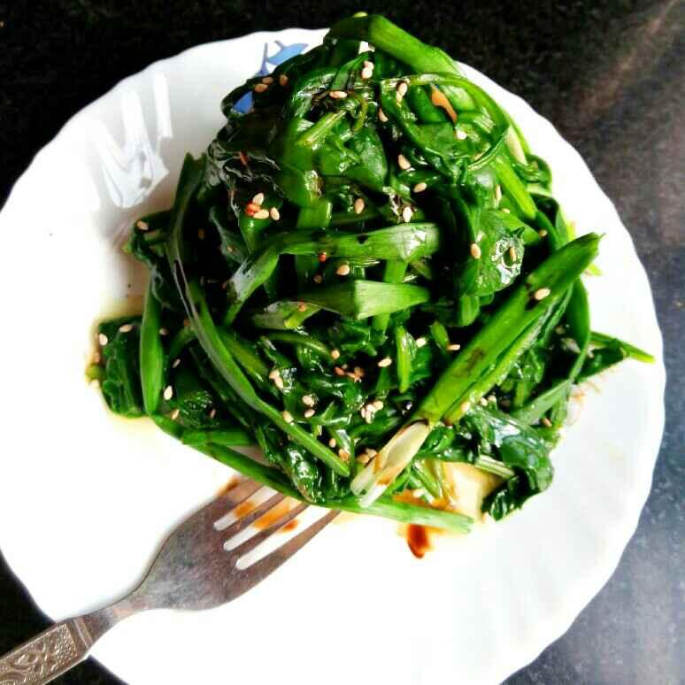 Photo of Korean Spinach salad by Vandana Jangid at BetterButter