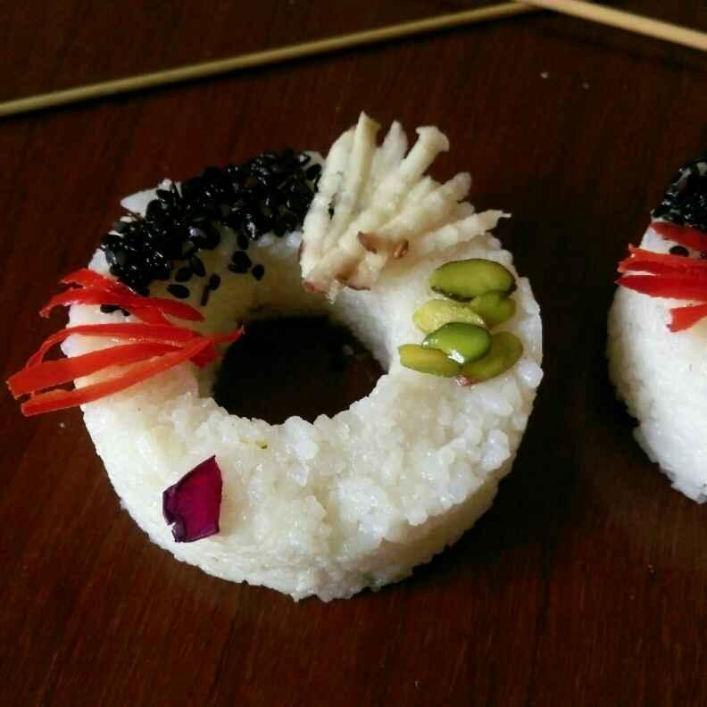 How to make Sushi Doughnut