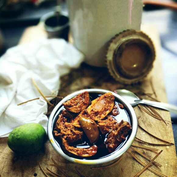 How to make Kairi Ka Achaar (Raw Mango Pickle)