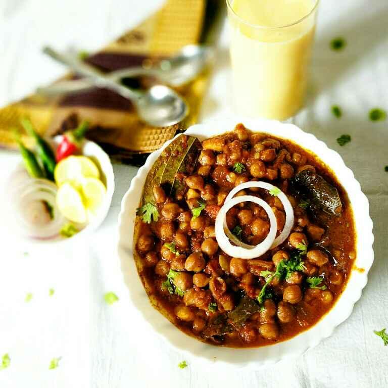Photo of Restaurant style Punjabi chole by Vandana Jangid at BetterButter