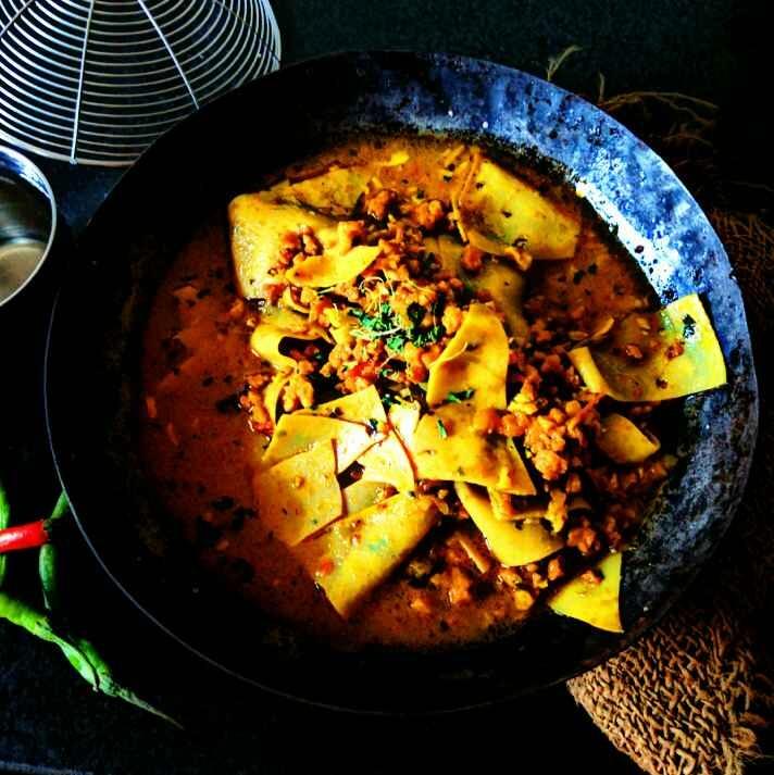Photo of Rajasthai delight papad-mangodi by Vandana Jangid at BetterButter