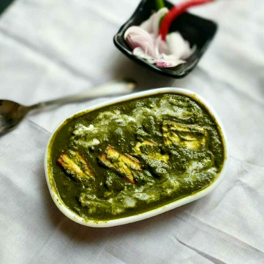 Photo of Palak butter paneer masala by Vandana Jangid at BetterButter