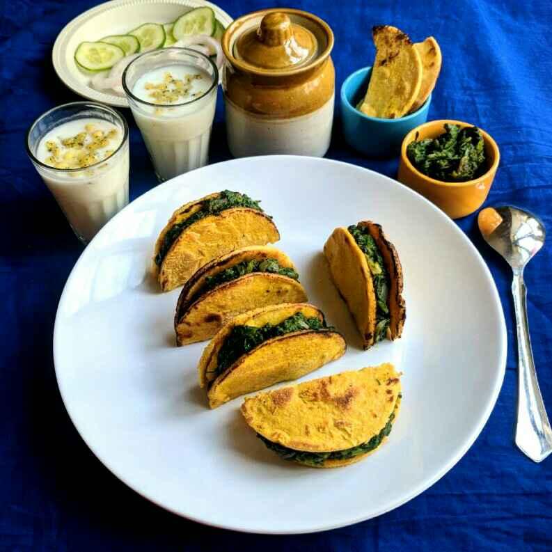 How to make Punjabi sarso da saag makke di roti