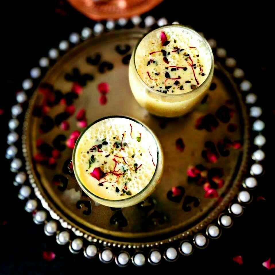 How to make Shahi masala thandai