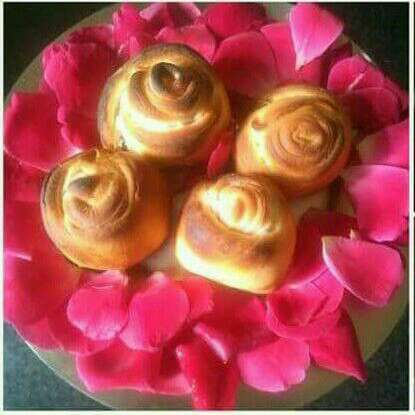 How to make Baked Roses