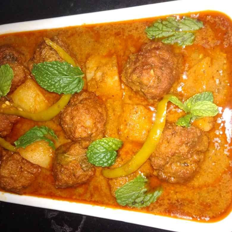 Photo of Degi aloo kofta curry by Vandana Paturi at BetterButter