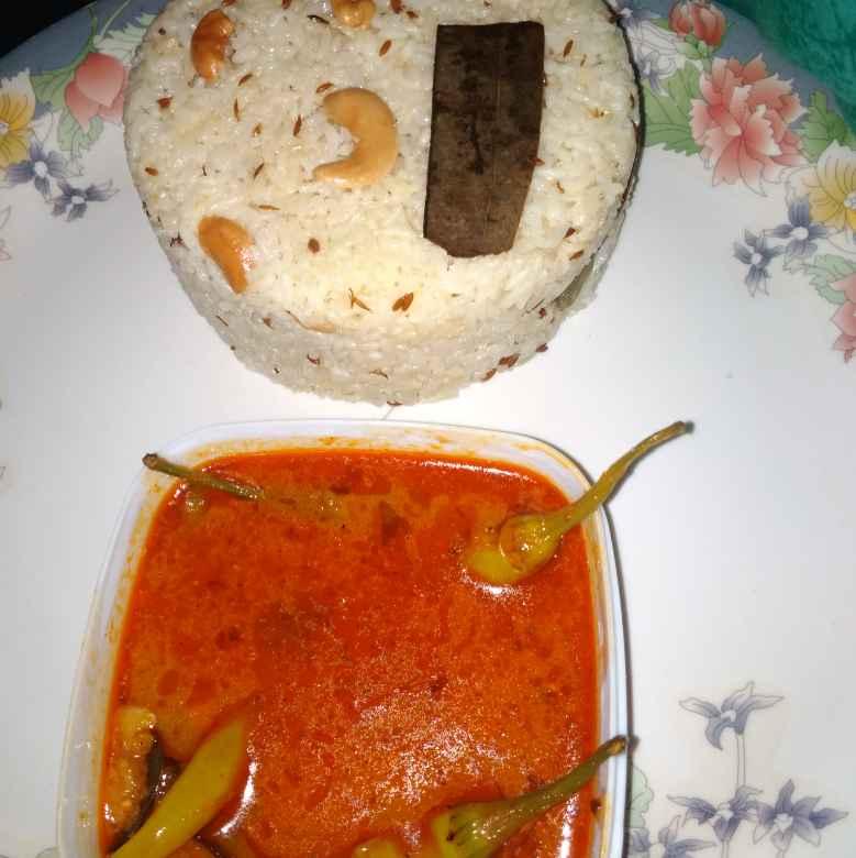 Photo of Jeers rice dal Green chilli gravy  by Vandana Paturi at BetterButter