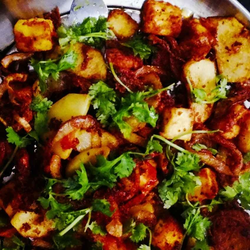 How to make Paneer veggie stir fry