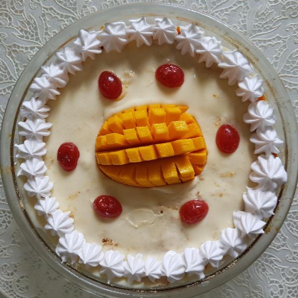 How to make Mango flan