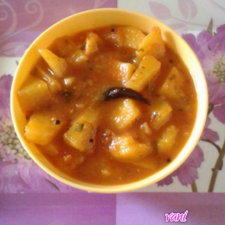 How to make Potato curry....no onion, no garlic