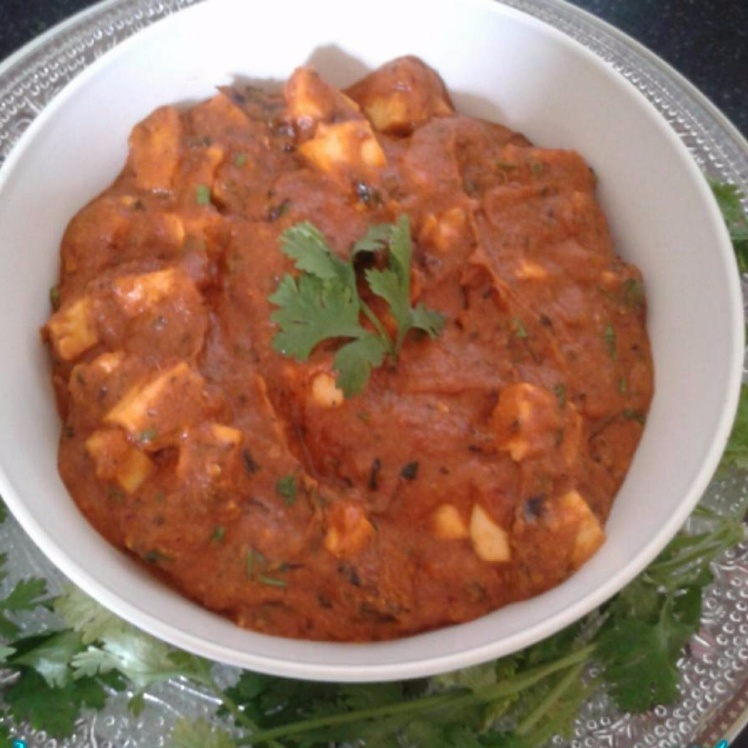 How to make Cashew Paneer curry...(no onion, no garlic)