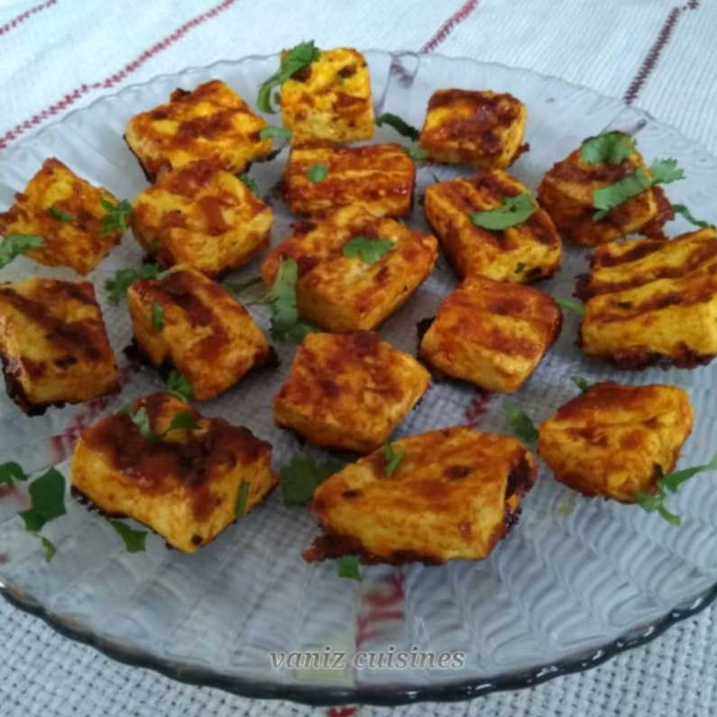 How to make Grilled paneer