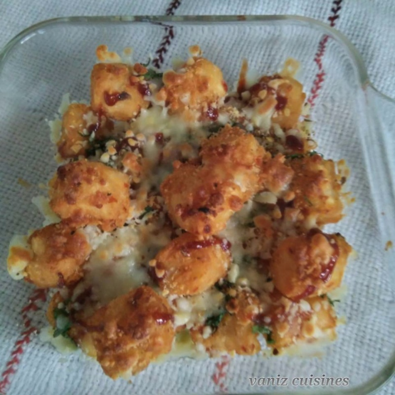 Photo of Potato cheese pop nuggets by cuisines vz at BetterButter