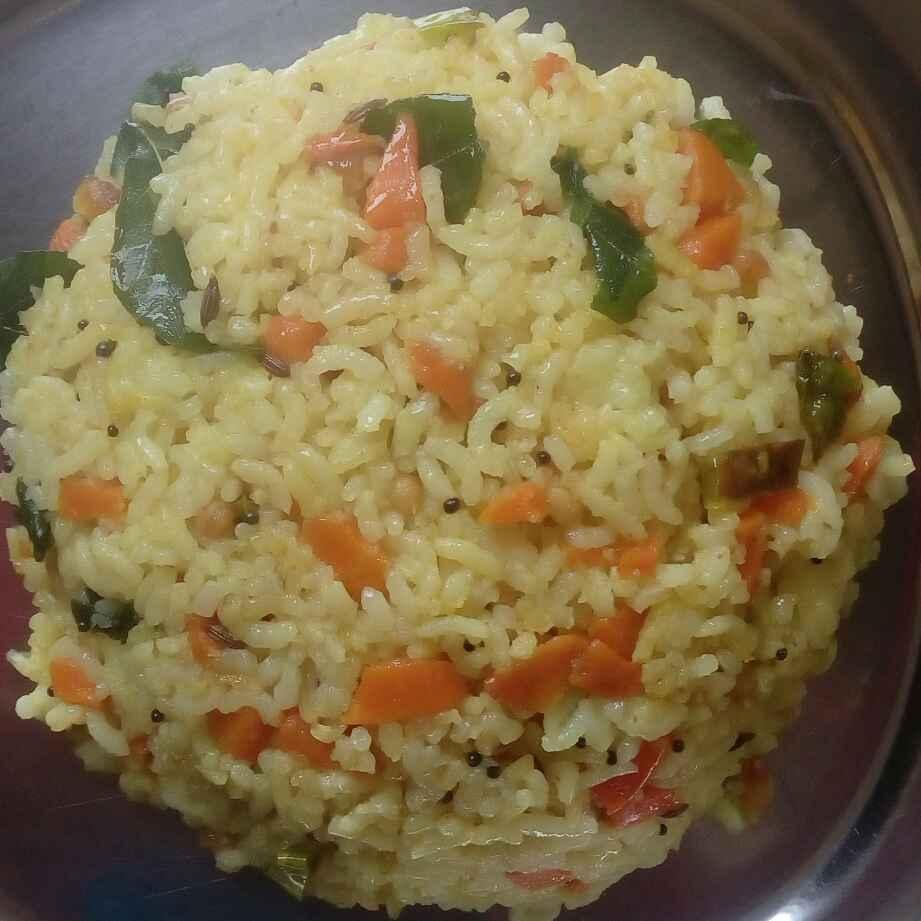 Photo of carrot rice  by Vani Gunti at BetterButter