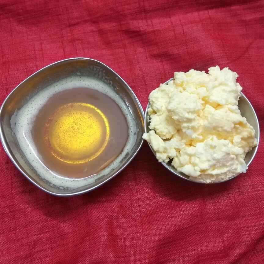 Photo of home made butter and ghee by Vani Harvish at BetterButter