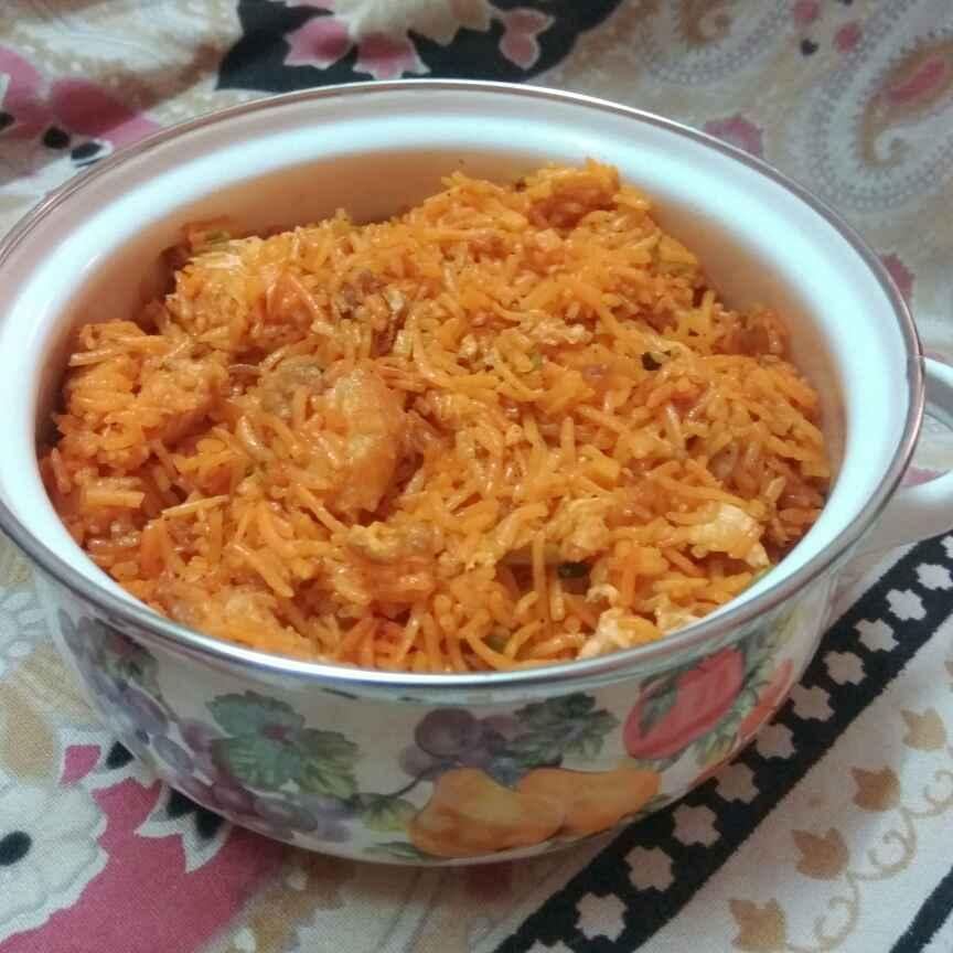 Photo of schezwan  chicken fried rice by Vani Vani at BetterButter