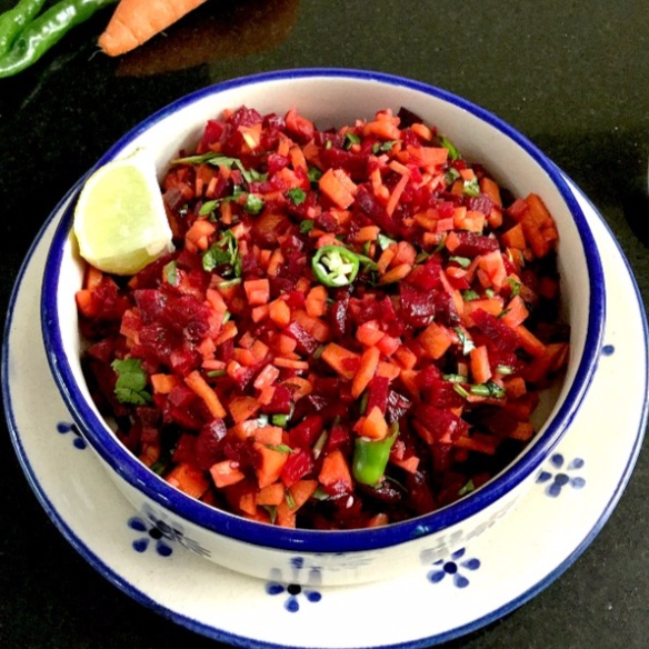 How to make Fresh Beetroot and Carrot Salad