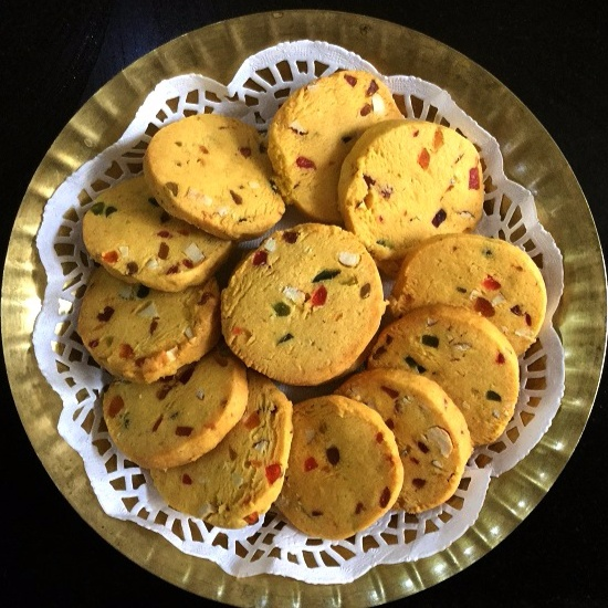 Photo of Karachi Biscuits/Eggless Candies Fruit Biscuits by Vanitha Bhat at BetterButter