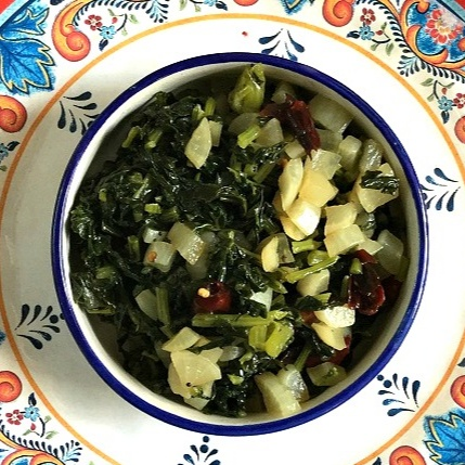 Photo of Radish Greens Stir Fry by Vanitha Bhat at BetterButter