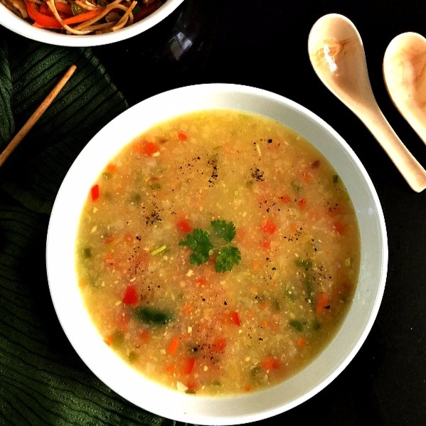 How to make Healthy Sweet Corn Vegetable Soup
