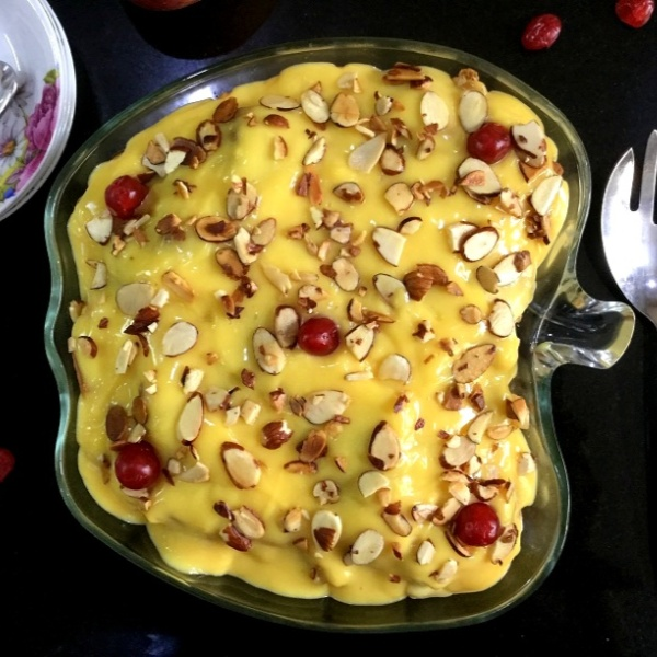 Photo of Fruit Custard Trifle Pudding by Vanitha Bhat at BetterButter