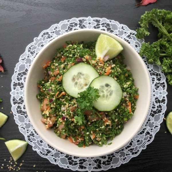 How to make Middle Eastern Tabbouleh/Tabouli