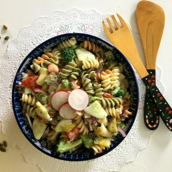 How to make Zesty, Creamy Pasta Salad