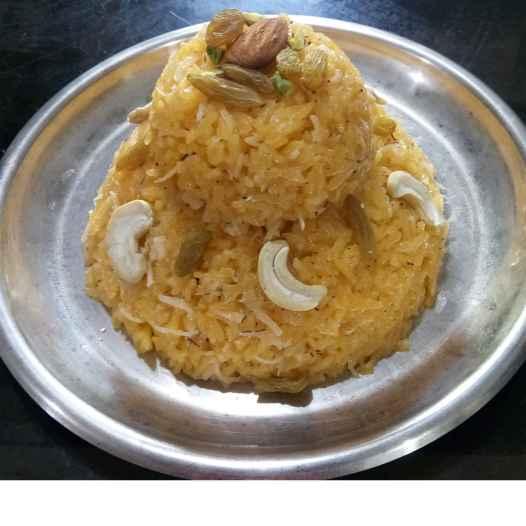 Photo of Kesari Narali Bhaat by Varsha Deshpande at BetterButter