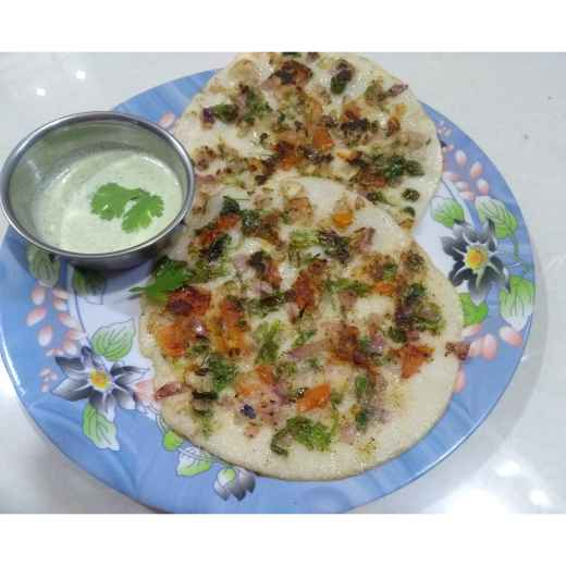 Photo of Uttapam with Dosa Batter . by Varsha Deshpande at BetterButter