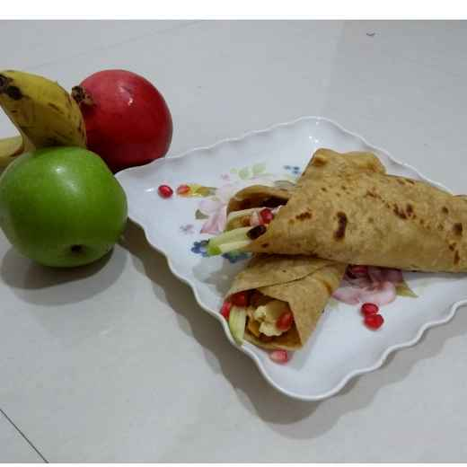 Photo of Fruit and nuts Franki by Varsha Deshpande at BetterButter