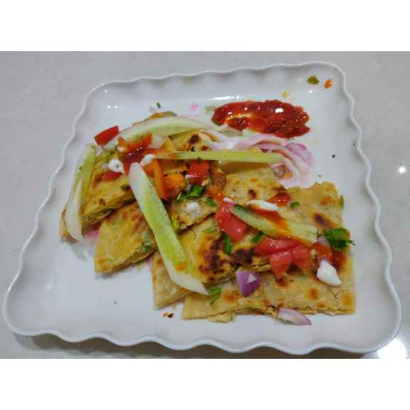 Photo of Egg Stuffed Paratha . by Varsha Deshpande at BetterButter