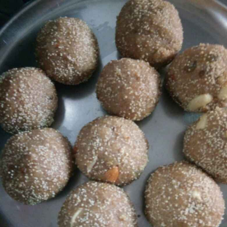 How to make ચુરમા લાડુ