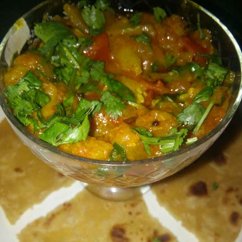 Photo of Bottle gourd green bhaaji by Varsha Joshi at BetterButter