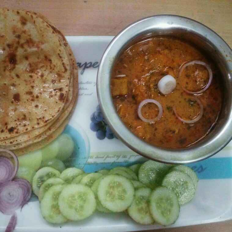Photo of Rajasthani besan gatte ki sabji by varsha  at BetterButter
