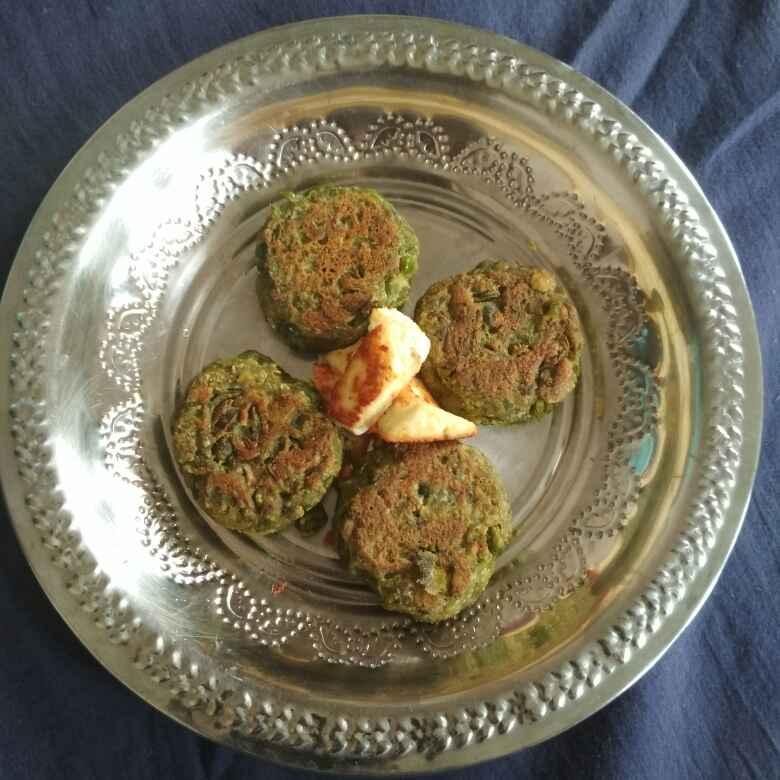 Photo of Peas palak with panneer kabab by Vasu Raj at BetterButter