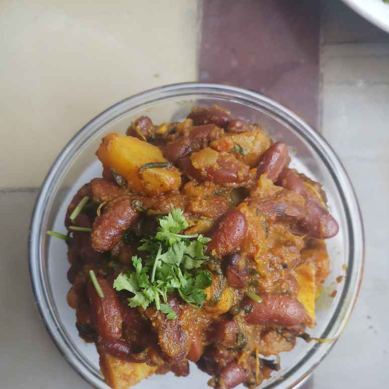 Photo of Rajma Potato curry by Vasuki Pasupuleti at BetterButter