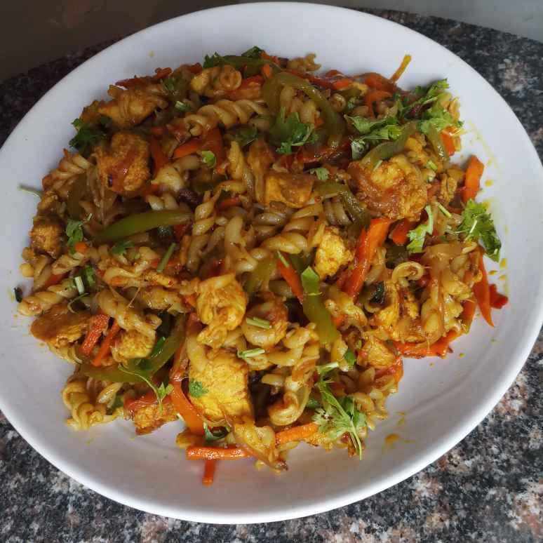 Photo of Chicken pasta by Vasuki Pasupuleti at BetterButter