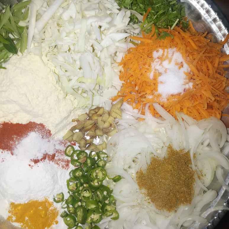 Photo of Cabbage carrot pakora by Vasuki Pasupuleti at BetterButter